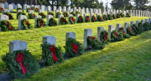 Wreaths placed at Evergreen-Washelli Memorial Park